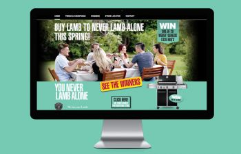 website YOU NEVER LAMB ALONE PROMO